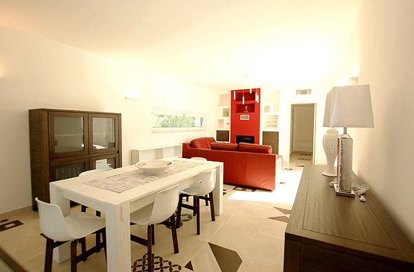 Villa Natalino Wohnzimmer 2